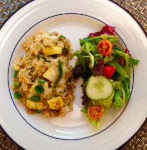 Cheesy Quinoa Gratin with Summer Squash by Calm Belly Kitchen